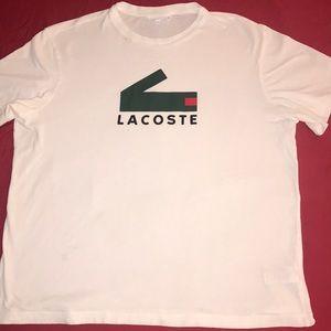 Lacoste modern logo tee
